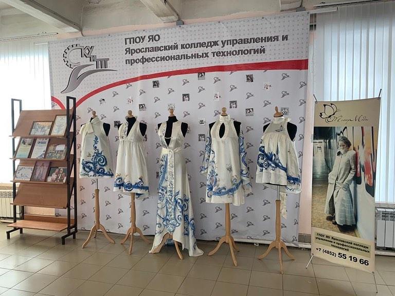 Будущие модельеры-дизайнеры в Ярославле провели творческий показ своих работ