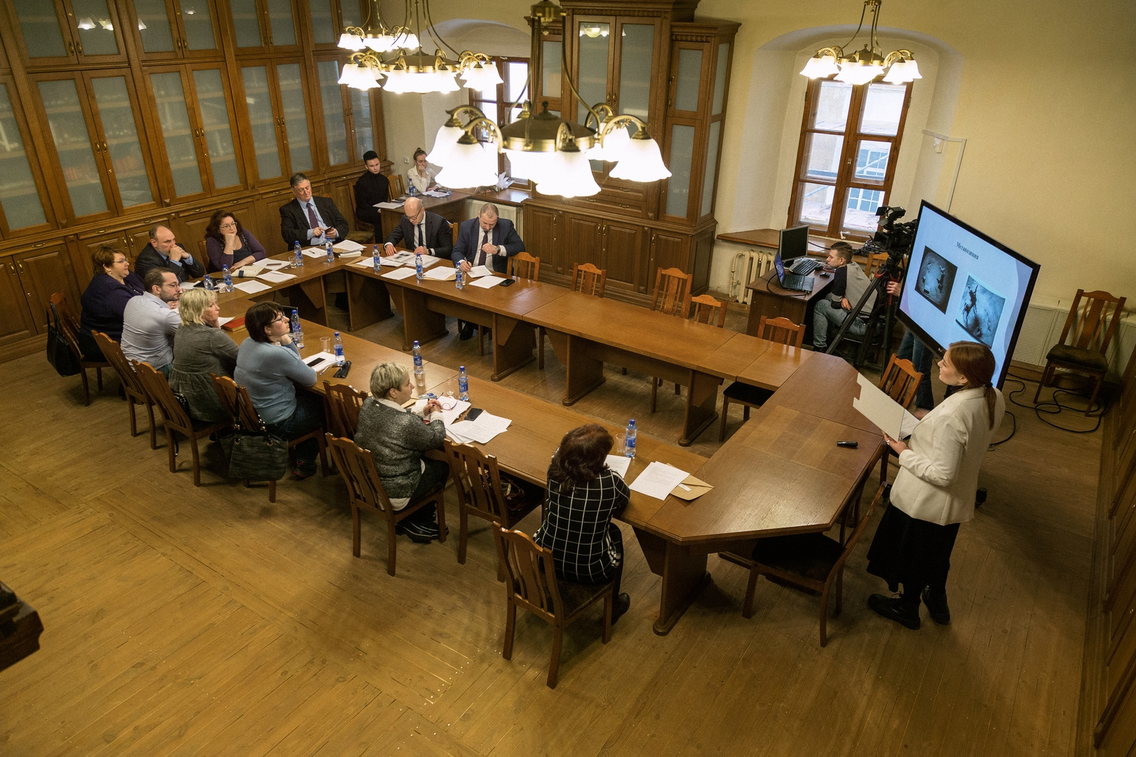 В «Ростовском кремле» студенты-«музейщики» презентовали свои учебные проекты