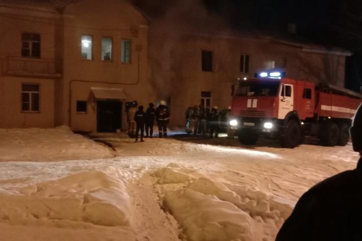 В Ярославле при пожаре погиб мужчина