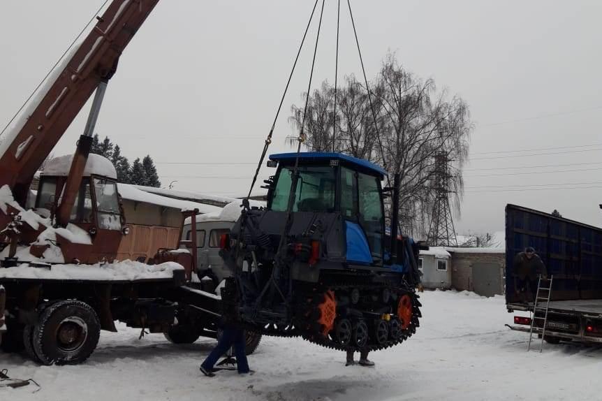В Ярославскую область приходит новая лесохозяйственная техника