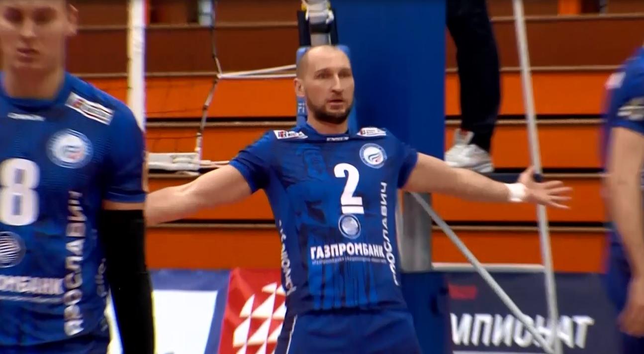 Волейбольный «Ярославич» обыграл подмосковную «Искру»