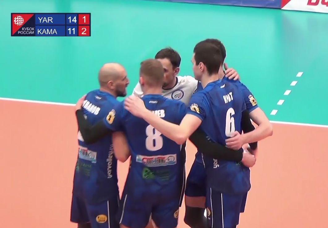 «Ярославич» одержал волевую победу над «Камой» в Финале шести