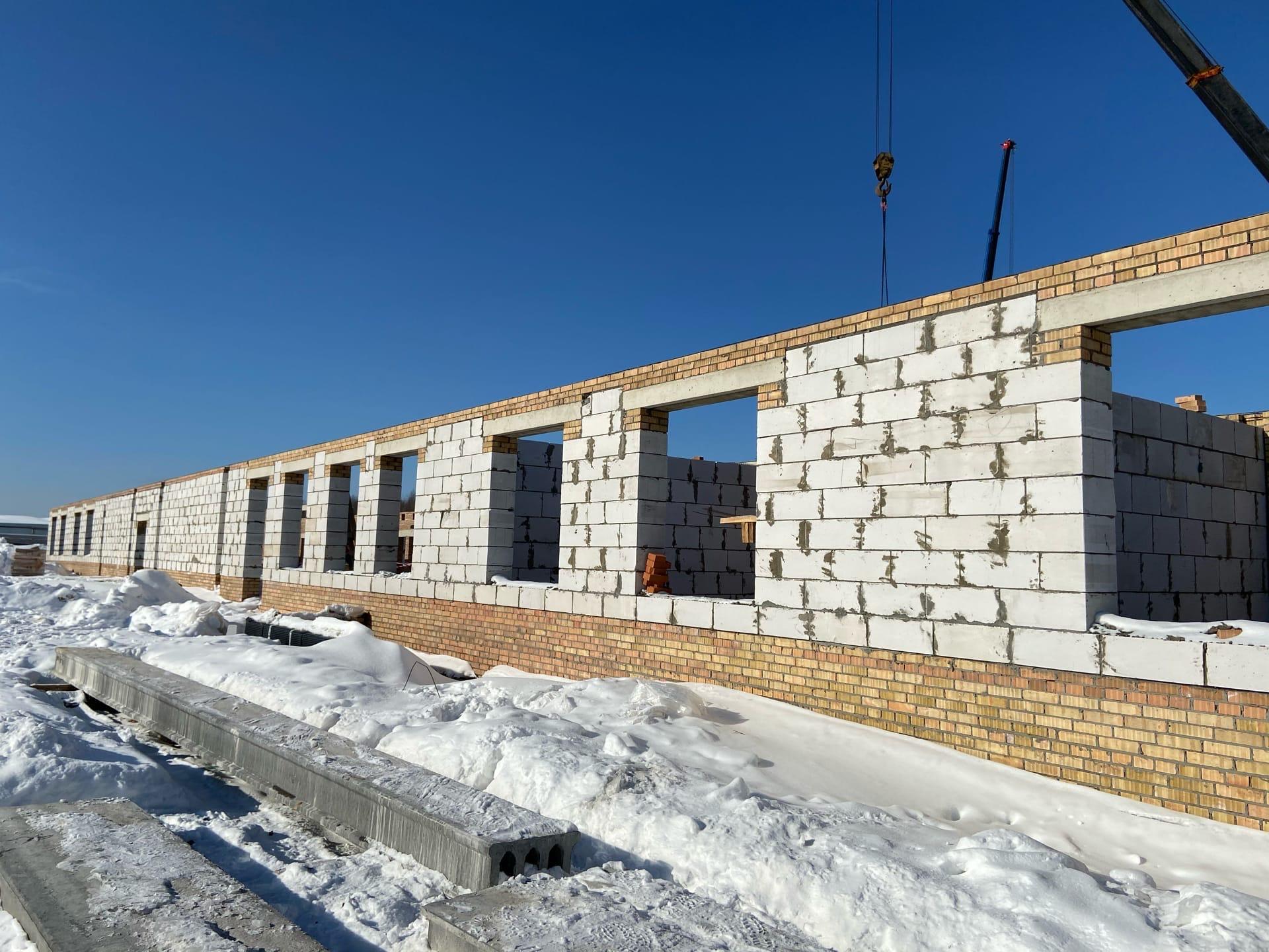 В селе Новом стоят спальный корпус для ветеранов войны и труда