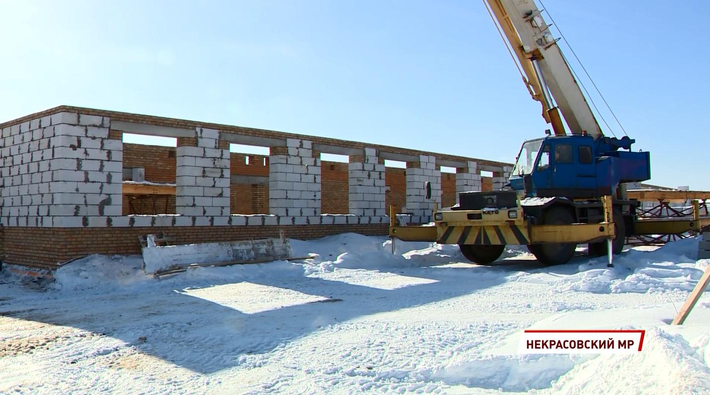 Спальный корпус в селе Новом должны сдать в конце августа 2022 года