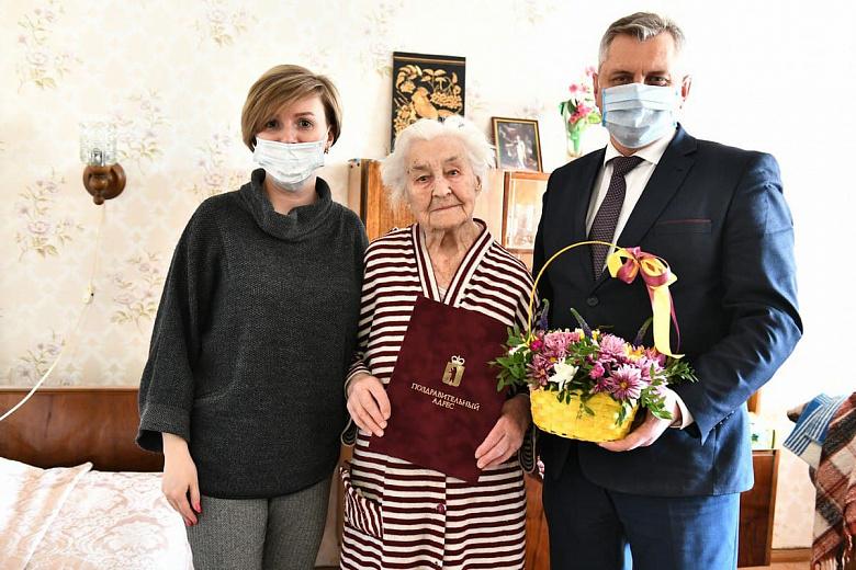 Ярославская долгожительница отметила 101-летие