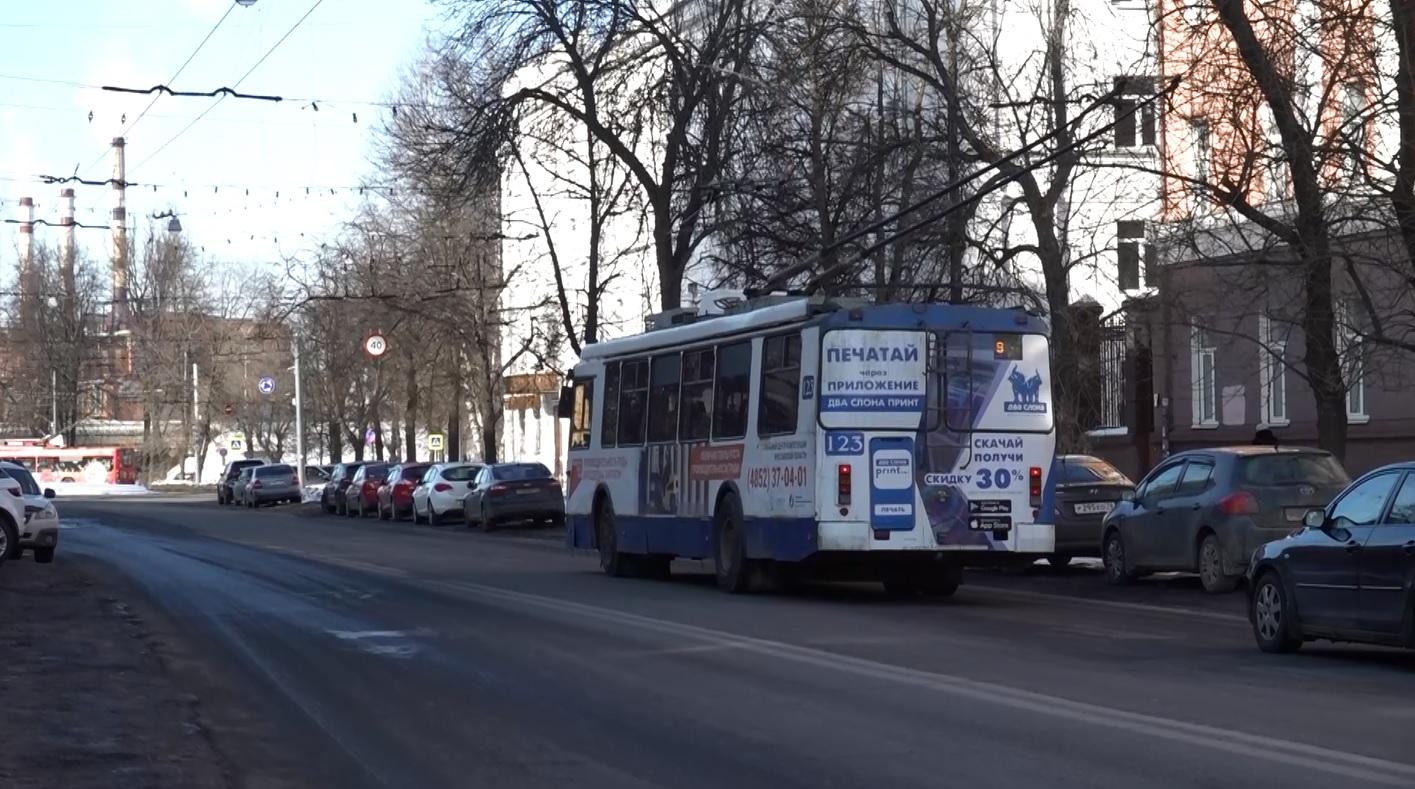 Гирлянда остановила работу электротранспорта в Ярославле