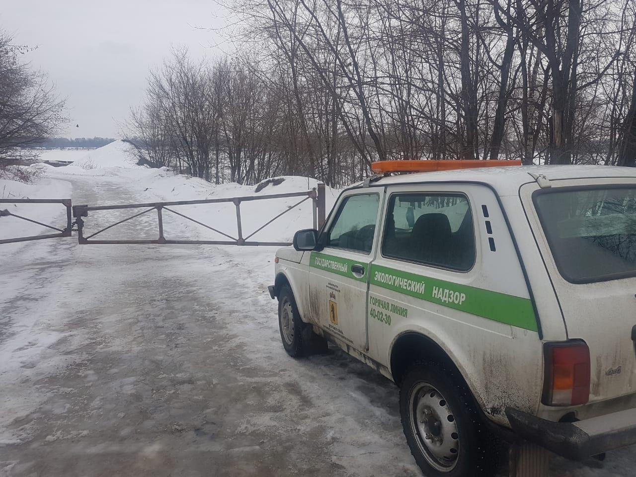 В Ярославле проведут проверку в связи с появлением масляных пятен на Волге