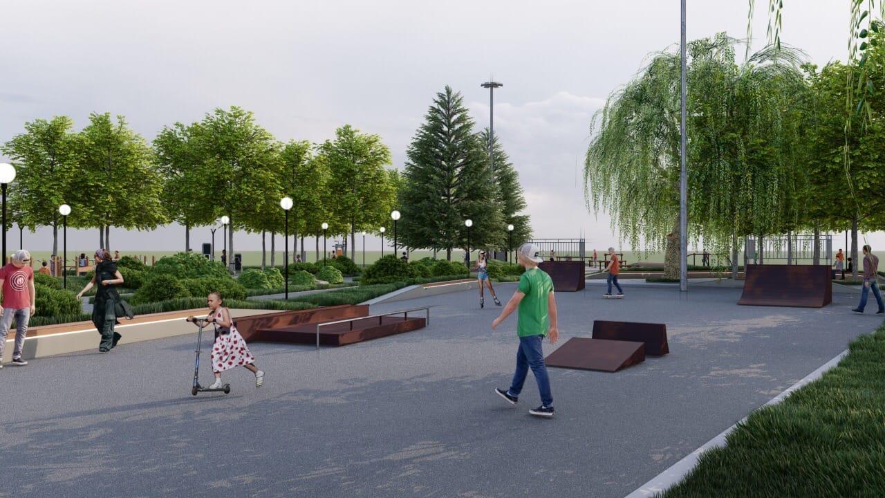 Мэр Ярославля показал, как будет выглядеть благоустроенный Юбилейный парк