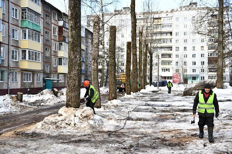 В Дзержинском районе Ярославля начались работы в рамках проекта «Решаем вместе!»