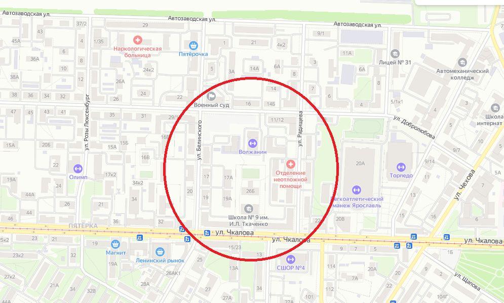 На Пятерке в Ярославле планируют построить 17-этажную гостиницу