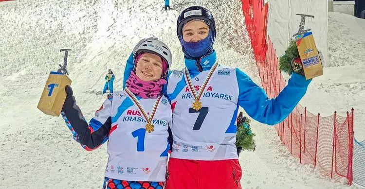 Ярославская спортсменка выиграла юниорское первенство мира по фристайлу