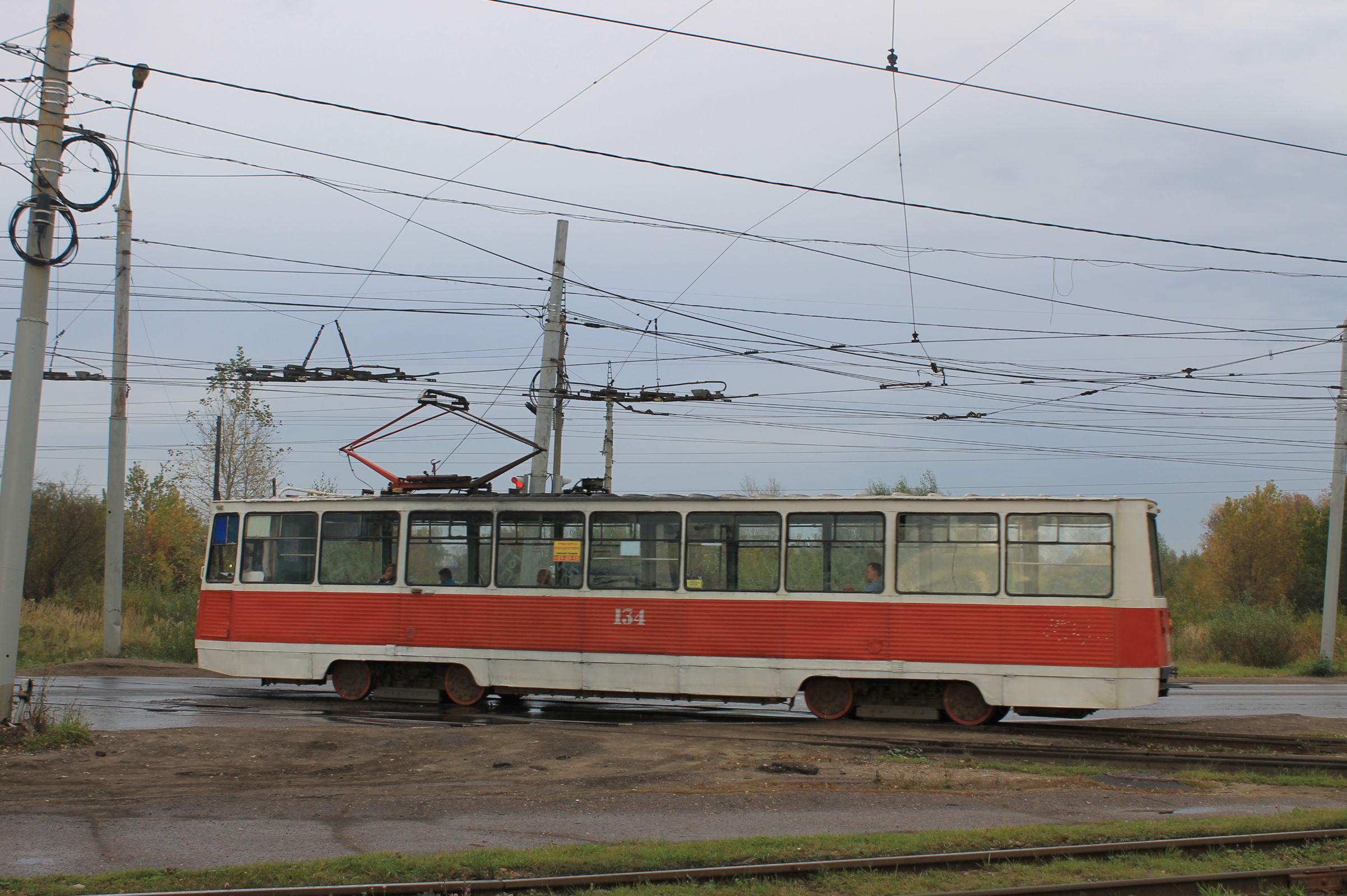 В Ярославле приостановили трамвайное движение по улице Блюхера