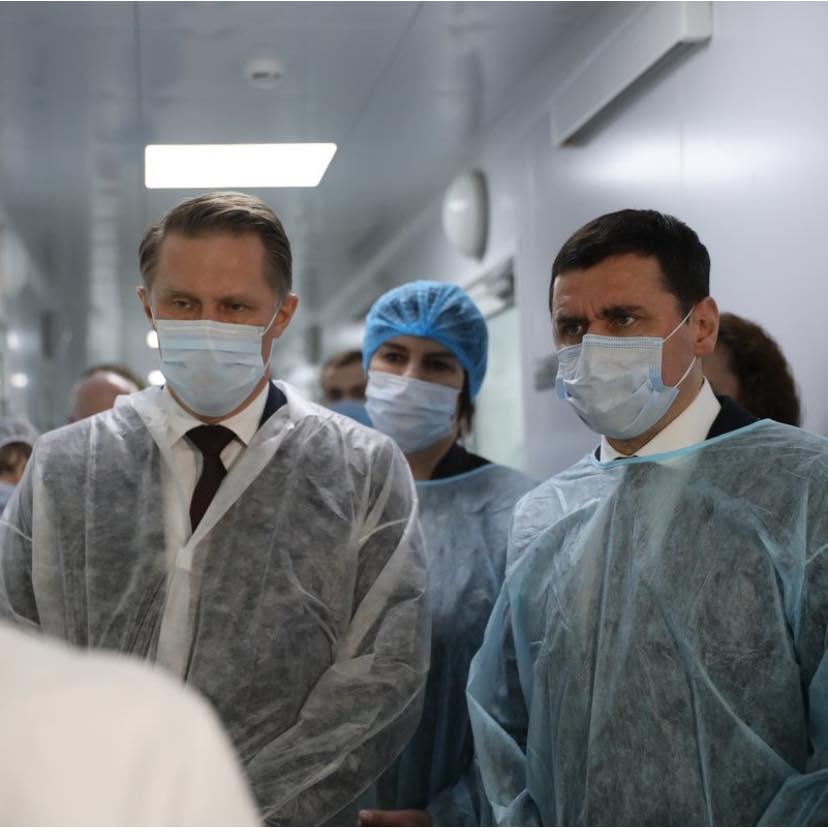 Дмитрий Миронов вместе с главой Минздрава открыли крупнейшую лабораторию по проверке качества лекарств