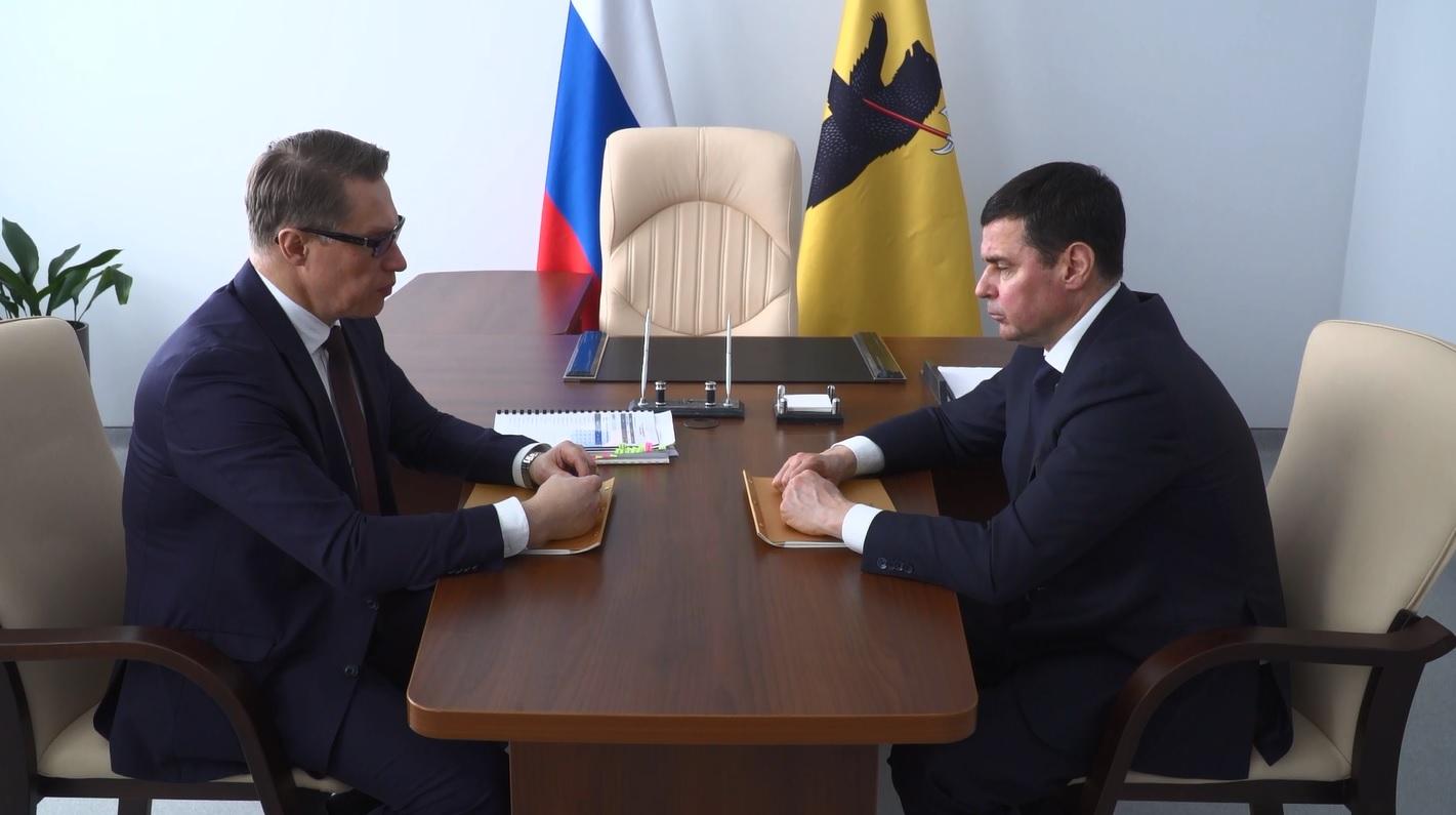 Дмитрий Миронов и глава Минздрава России провели двустороннюю встречу