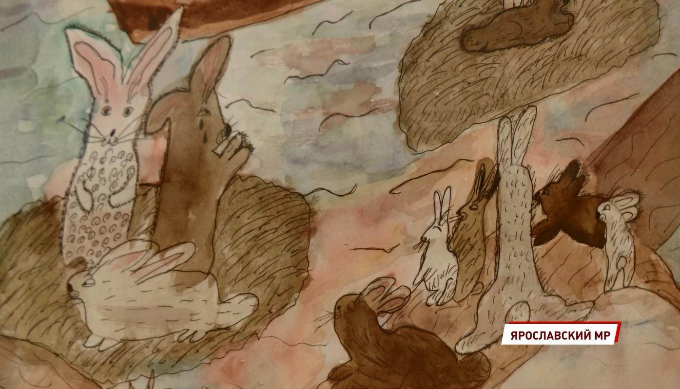 Дети увидели то, что ранее даже профессиональные художники не замечали: в Карабихе открылась выставка рисунков
