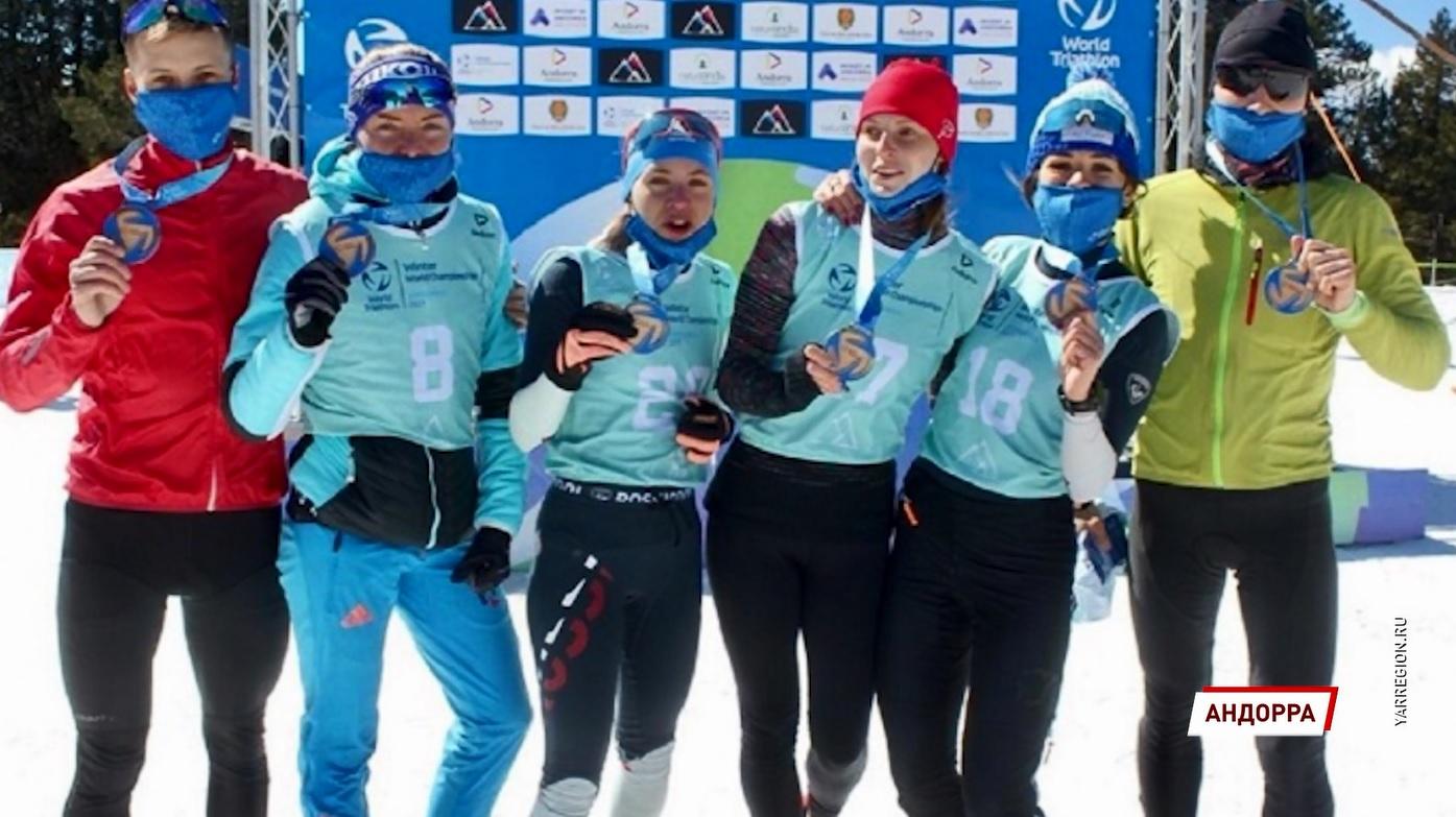 Ярославцы стали победителем и призером чемпионата мира по зимнему триатлону