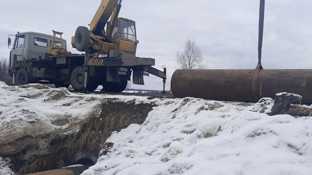 В этом году в Ярославской области ремонт дороги проведут по технологии холодной регенерации