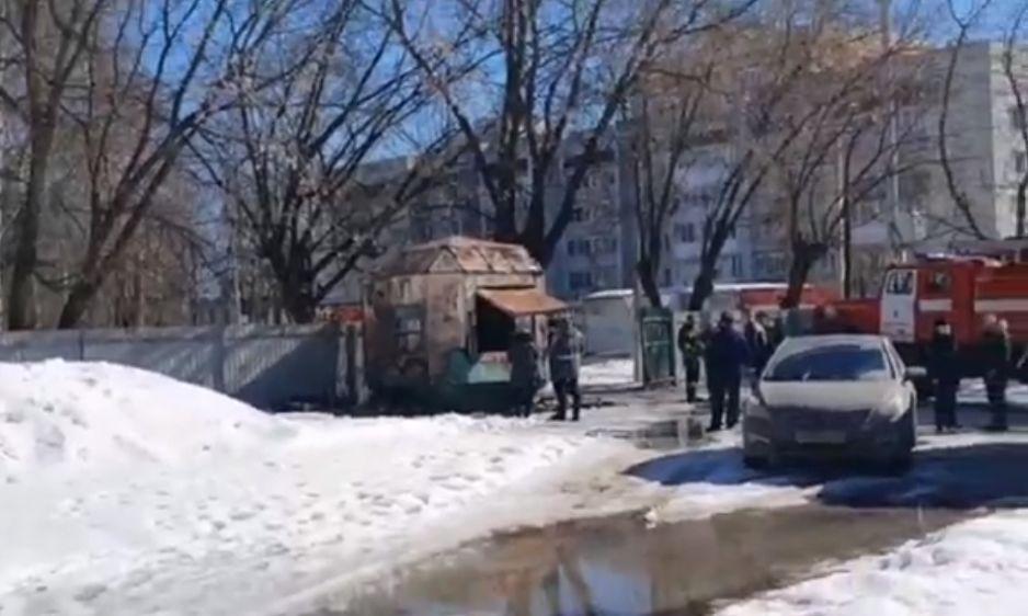 В Ярославле в пожаре погиб мужчина