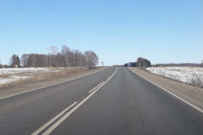 Дорога от Ярославля до границы с Тверской областью вошла в состав федеральной трассы