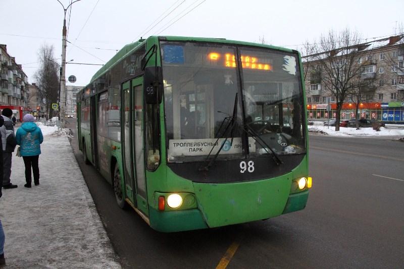В троллейбусах Рыбинска ввели безналичную оплату проезда