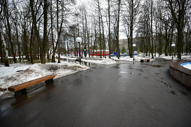 Мэр Ярославля после сообщений в соцсетях о состоянии Юбилейного парка пообещал привести его в порядок