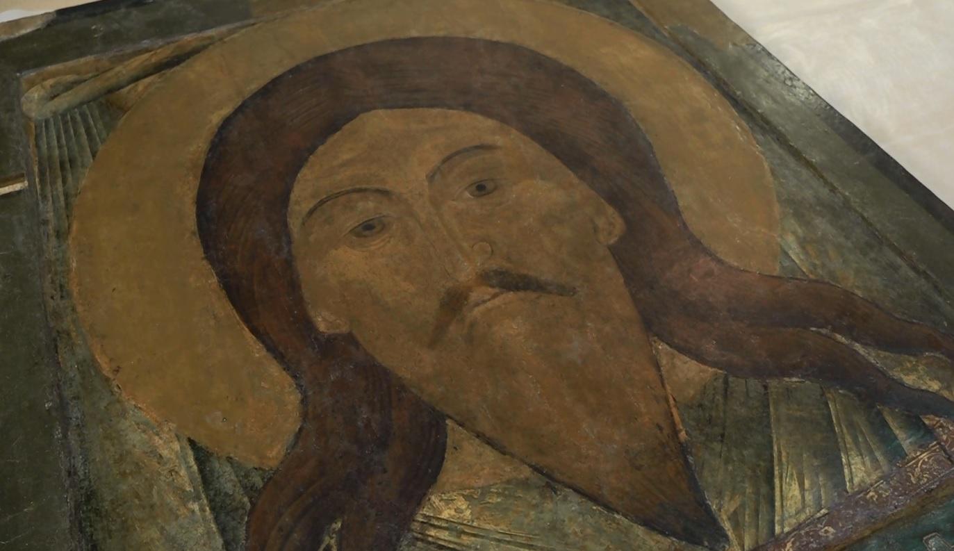 Министр культуры России торжественно передала икону Спаса Нерукотворного ярославскому монастырю