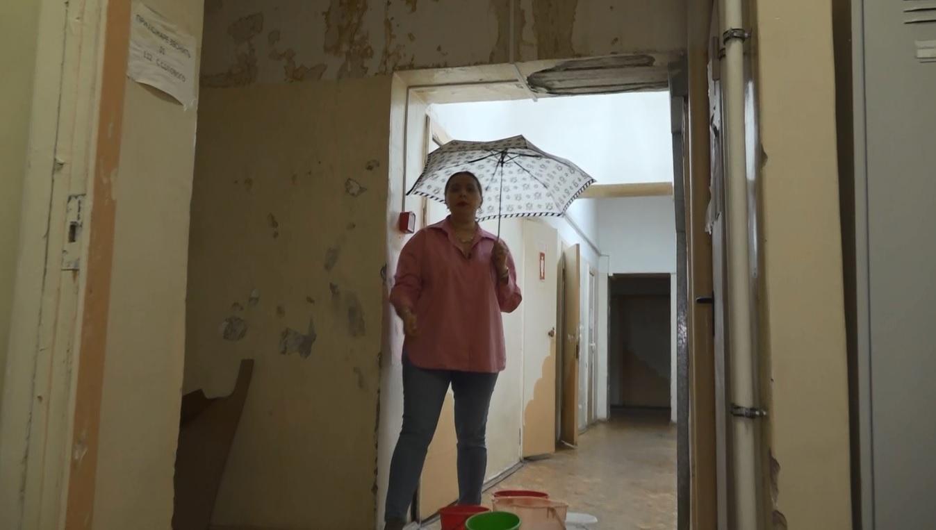 В Дзержинском районе Ярославля залило станцию скорой помощи