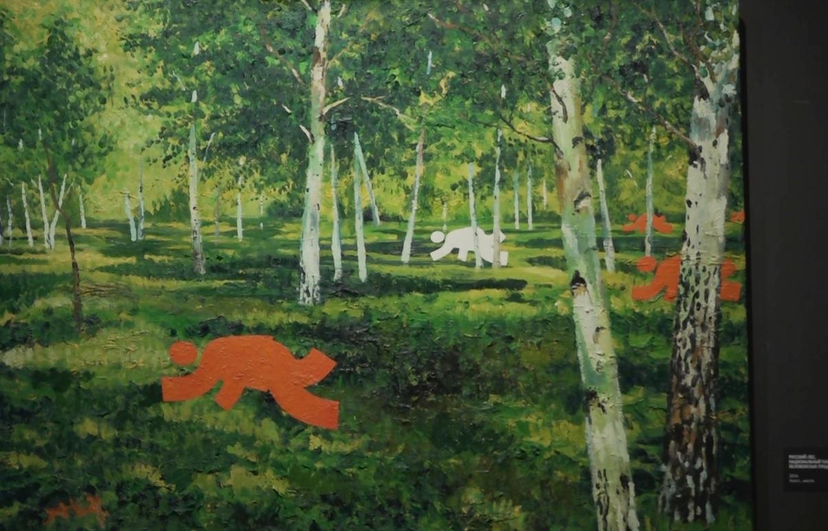 В Ярославле открыли выставку с красными и белыми человечками