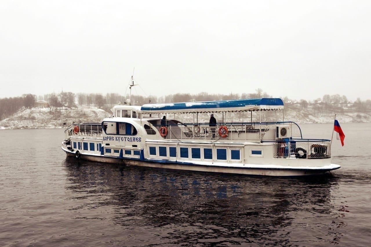 В Ярославской области готовятся открыть пассажирскую переправу через Волгу