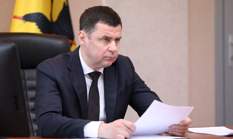 Дмитрий Миронов сохранил позиции в медиарейтинге глав регионов ЦФО