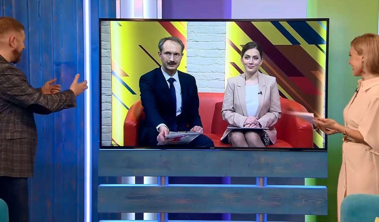 «Первый Ярославский» впервые вышел на связь с коллегами из Петербурга посредством телемоста