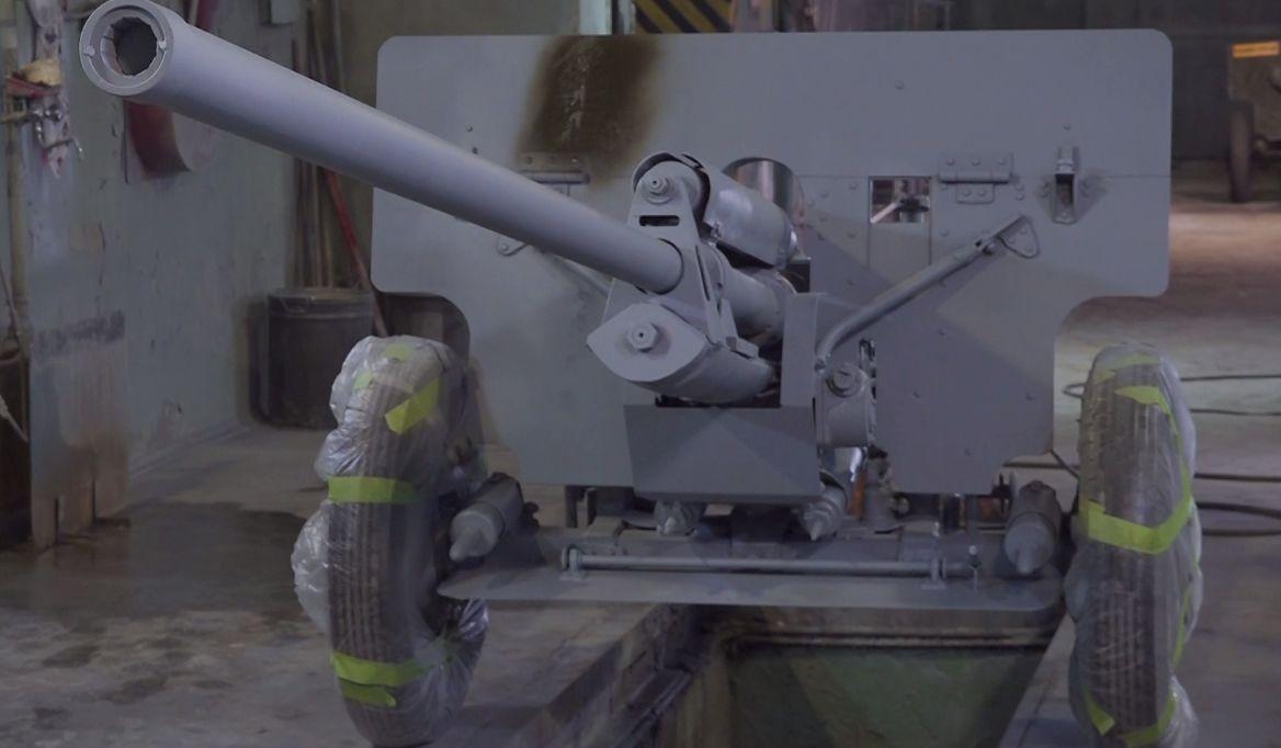 В Ярославле воссоздали самую мощную противотанковую пушку начала Великой Отечественной войны
