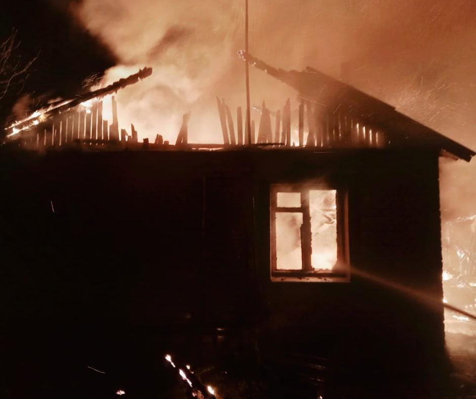 Пожилые супруги погибли при пожаре в Ярославской области