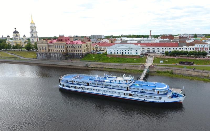В Рыбинск в этом сезоне прибудут более сотни теплоходов