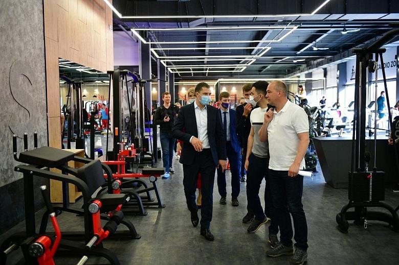 Один из крупнейших спортивных центров открылся в Ярославле