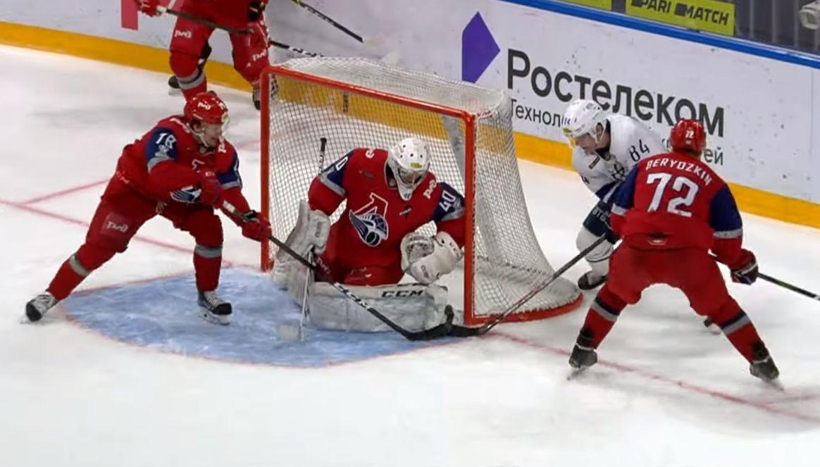 «Локо» уступил «Динамо» в четвертом финальном матче Кубка Харламова