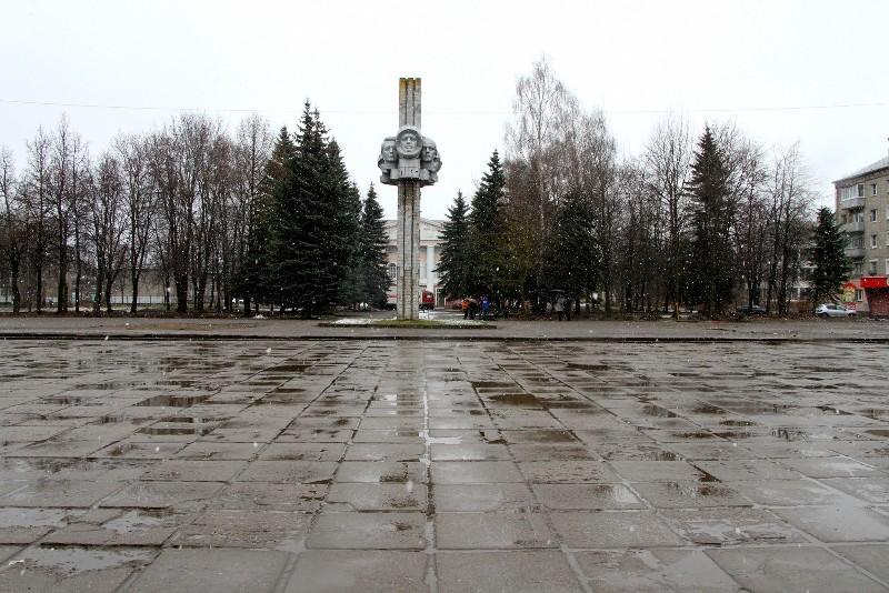 В Рыбинске начался ремонт Комсомольской площади