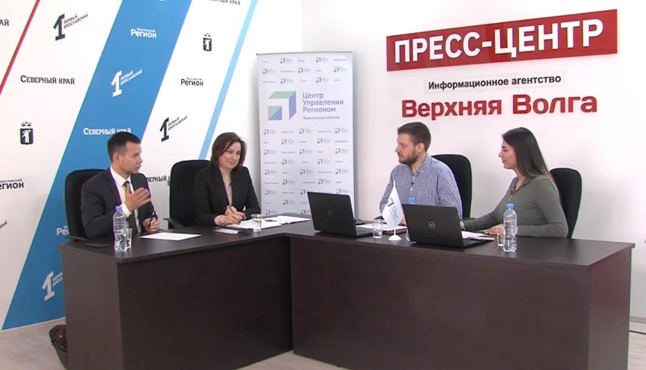 Предстоящее голосование по объектам благоустройства обсудили в прямом эфире