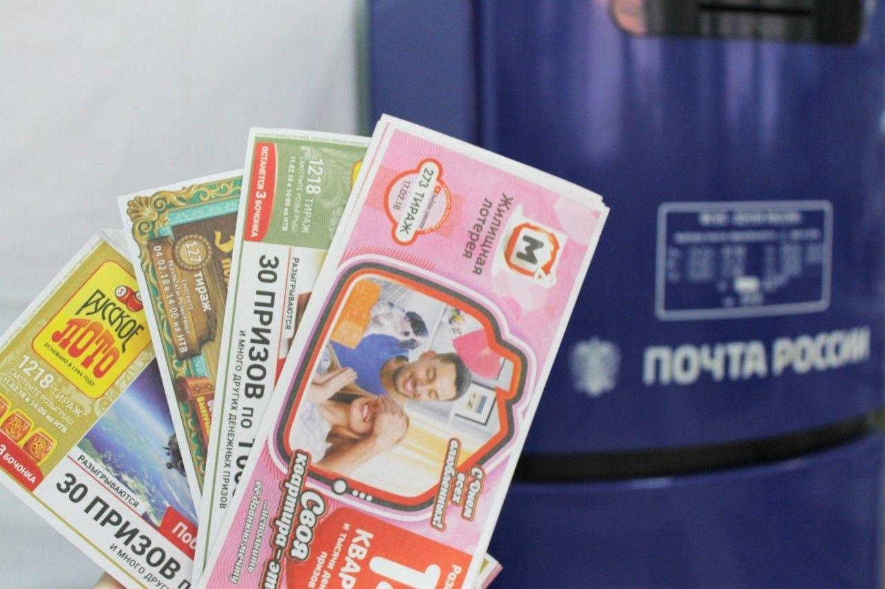 Количество лотерейных миллионеров – клиентов Почты России в первом квартале 2021 года выросло почти в три раза
