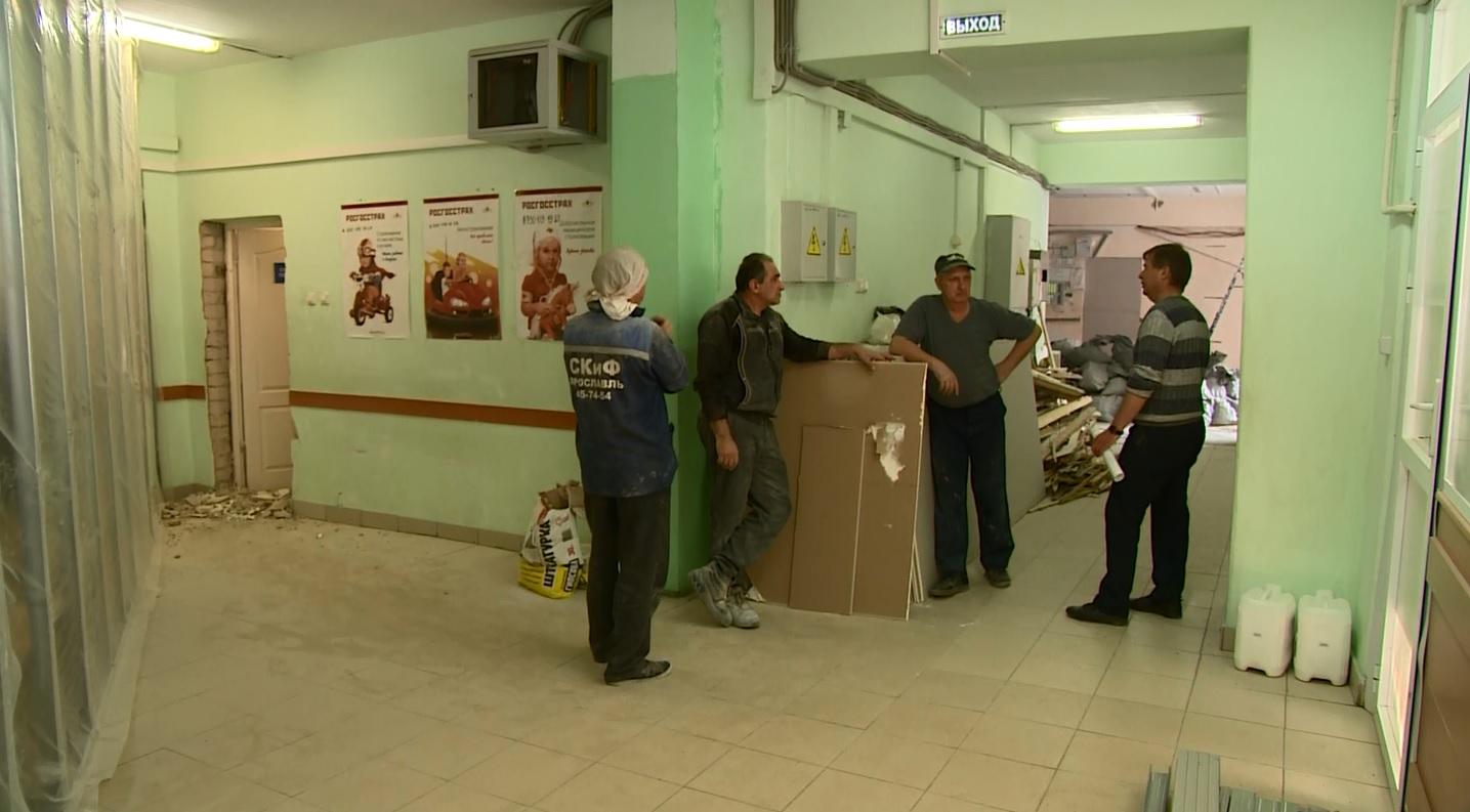 Впервые за 36 лет: в поликлинике на улице Труфанова начался капитальный ремонт
