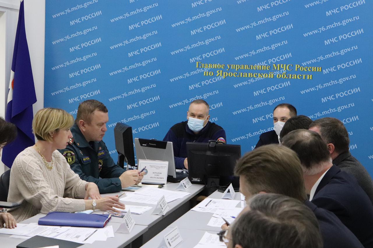 В Ярославской области введен режим повышенной готовности из-за паводка