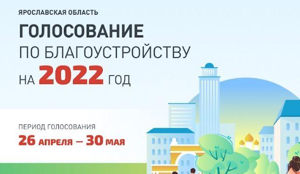 В Ярославской области начали выбирать проекты благоустройства на 2022 год: как проголосовать