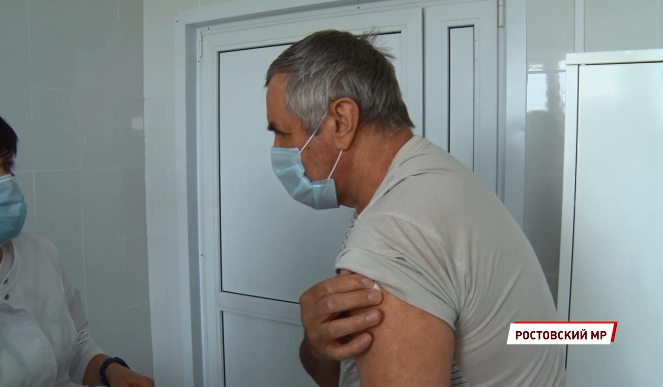 Около 90 тысяч жителей Ярославской области уже сделали прививку от коронавируса