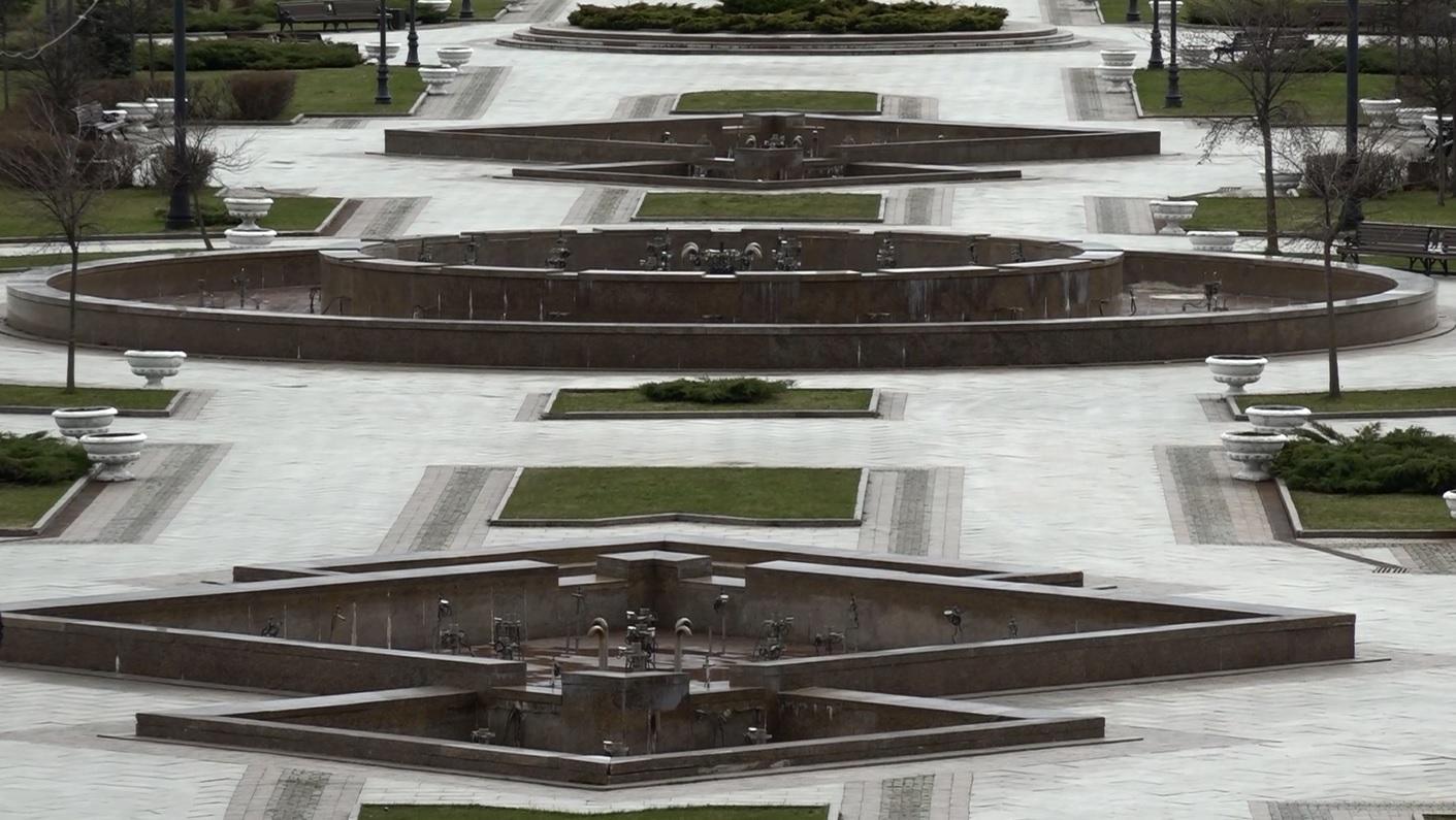 Первые два фонтана в Ярославле заработают 1 мая
