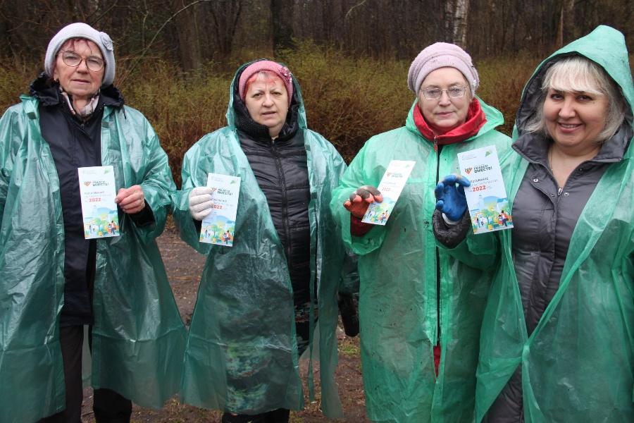 В Рыбинске голосование по выбору территорий для благоустройства с жителями обсуждали в ходе субботников