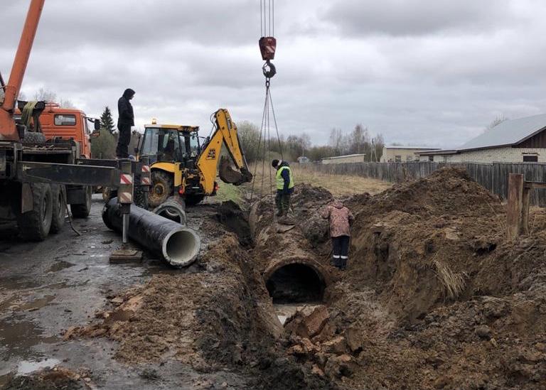 В Ярославской области начали ремонтировать трассу, которая связывает четыре района