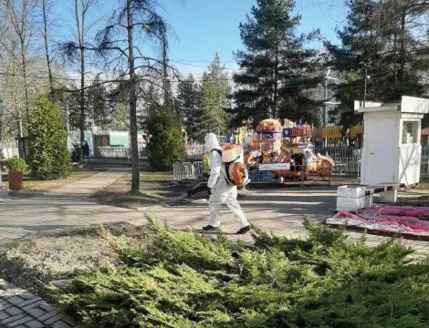 Парки Ярославля обработали от клещей
