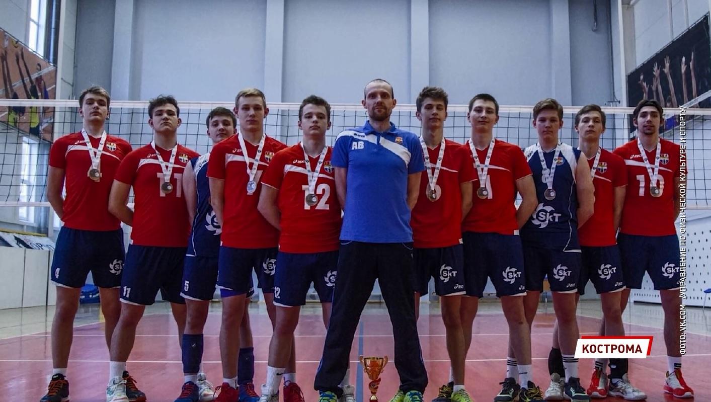 Сборная Ярославской области по волейболу стала бронзовым призером летней Спартакиады молодежи России