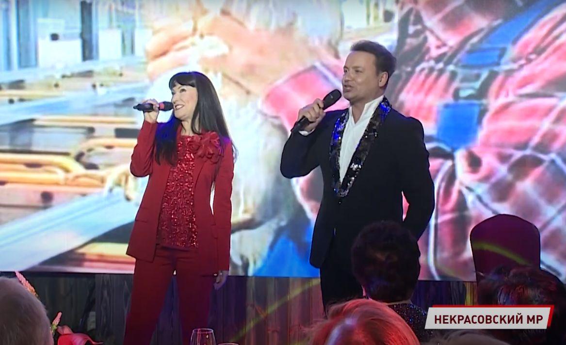 Александр Олешко и Нонна Гришаева выступили в Ярославской области: музыкальный бенефис прошел в Вятском