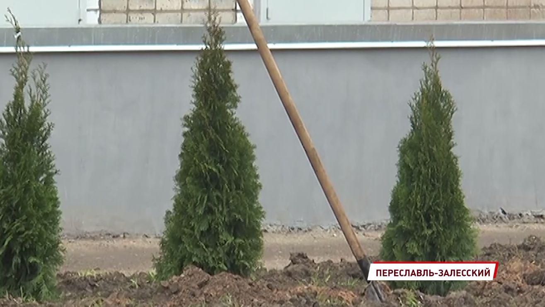 На территории больницы в Ярославской области установят постамент, посвященный борьбе с COVID-19
